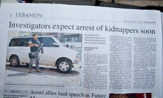 Igaunijā ierosina krimināllietu par pilsoņu nolaupīšanu Libānā