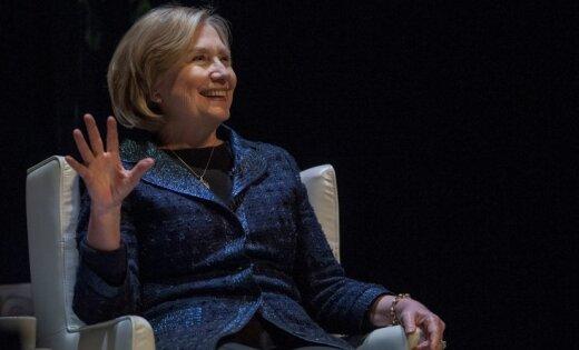 Клинтон впроцессе визита в РФ забыла вгостинице секретный документ