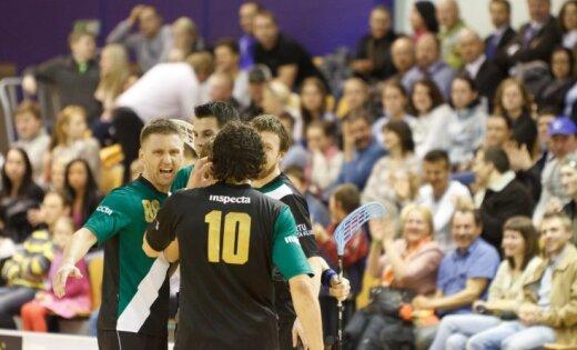 Arī RTU/'Inspecta' florbolisti triumfē 'EuroFloorball' turnīrā