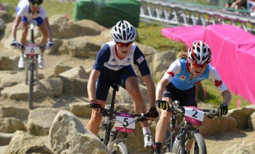 XXX Vasaras olimpisko spēļu kalnu riteņbraukšanas sieviešu sacensību rezultāti (11.08.2012)