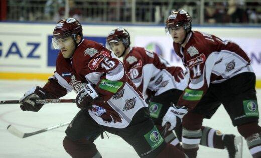 Rīgas 'Dinamo' hokejisti Minskā aizvada KHL sezonas gada pēdējo spēli