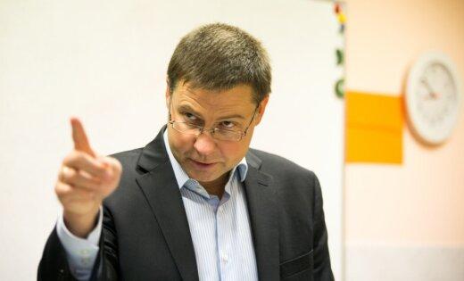 Домбровскис: переход на евро удался, цены не выросли