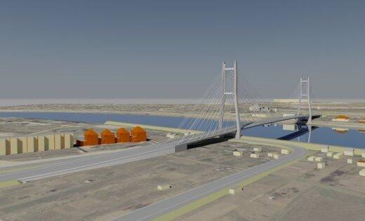 В Екабпилсе построят вантовый мост через Даугаву