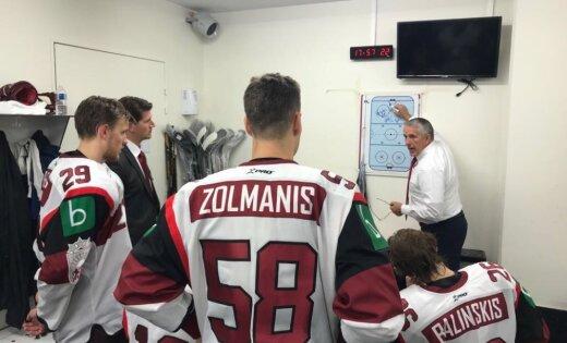 Хоккеисты сборной Латвии обыграли участницу Олимпийских игр в Пхенчхане