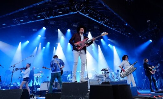 ФОТО: В Риге выступили Arcade Fire