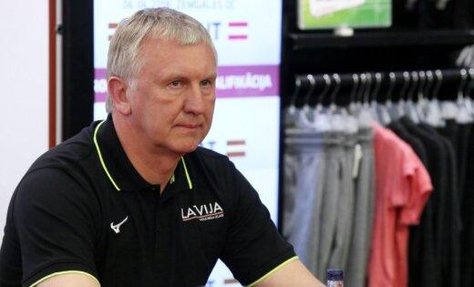 Latvijas volejbola izlases treneris Kēls pirmos pretiniekus austriešus uzskata par Eiropas līgas favorītiem