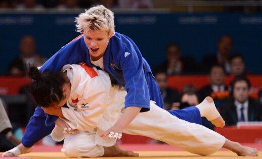 Džudo cīņā zelta godalgas izcīna Dienvidkorejas un Slovēnijas pārstāvji