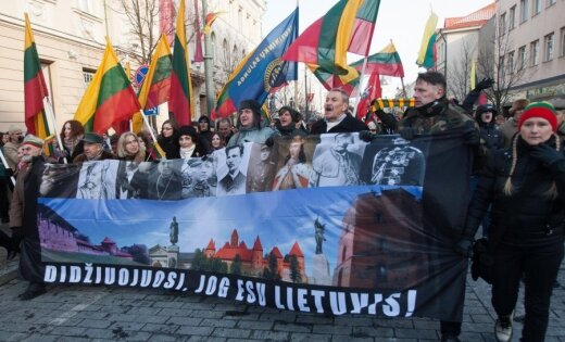 Власти Вильнюса не одобрили шествие националистов 16 февраля