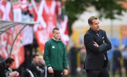 'Ventspils' futbolisti uzvar Jelgavā un saglabā izredzes uz medaļām