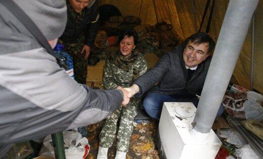 Саакашвили подтвердил получение документов олишении его гражданства государства Украины