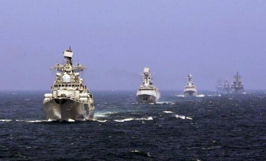 Ķīna un Krievija Baltijas jūrā rīkos kopīgus flotes manevrus