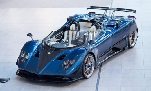 Visdārgākais jaunais sērijveida auto pasaulē – 15 miljonu eiro 'Pagani'
