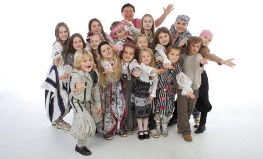 Populārā bērnu grupa 'Dzeguzīte' svin 40. jubileju