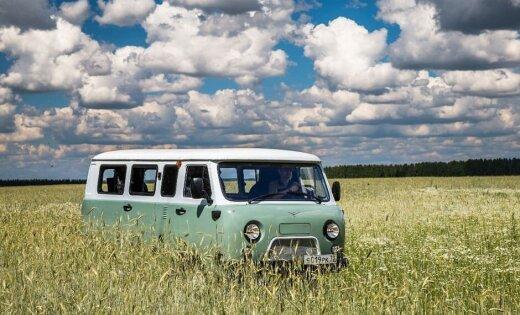 Par godu UAZ 'buhankas' 60 gadiem ražošanā radīta jubilejas versija