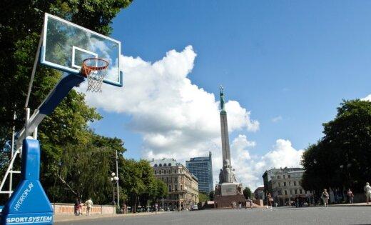 Nedēļas nogalē Rīgā būs 3x3 basketbolam piemēroti laika apstākļi