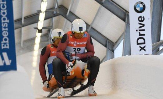 Команда Латвии впервые в сезоне-17/18 ворвалась на подиум в эстафете