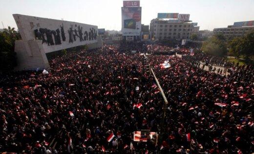 Беспорядки вБагдаде необошлись без жертв