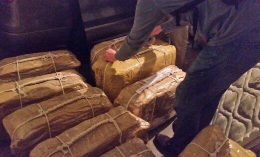 В Мексике конфисковали почти две тонны кокаина