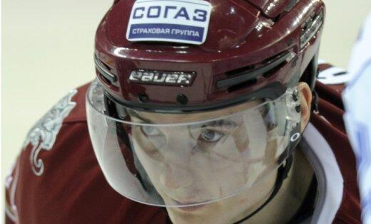 Rīgas 'Dinamo' debitants Bičevskis: sev atvēlētajā laikā nospēlēju normāli