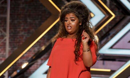 Britu 'X Faktora' skatītājus samulsina pusaudzes sejas krāsa
