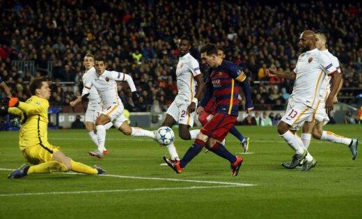 УЕФА признал гол Месси вворота «Ромы» лучшим впрошлом сезоне