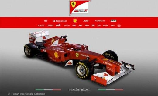 'Ferrari' Ķīnas GP sagatavojuši piecus tehniskus uzlabojumus