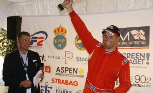 Uvis Slakteris izcīna trešo vietu F2 pasaules čempionāta otrajā posmā