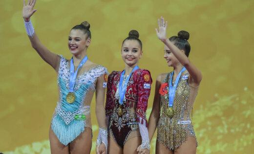 Россия выиграла командные соревнования ЧМ по художественной гимнастике