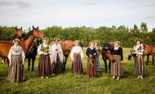 LNVM 'Savieši' stāstīs par latviešu folkloru pirms 120 gadiem un mūsdienās