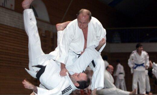 Вмолодости Путин снялся вкино вкачестве каскадера