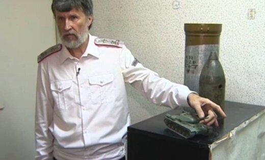 Krievs izgudrojis tanku, kas šauj ar kakām