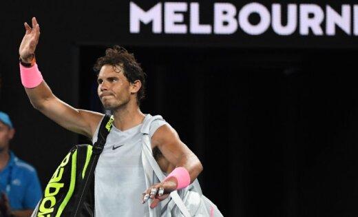 Надаль покинул Australian Open 2018 из-за травмы, Чилич вышел вполуфинал
