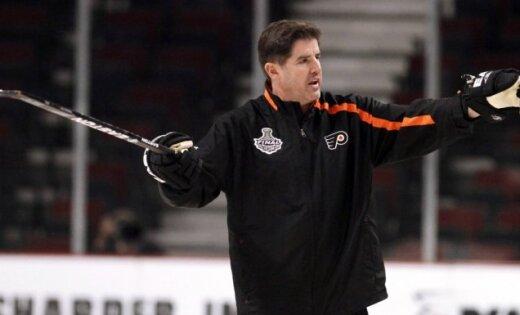 'Flyers' galvenais treneris Laviolets pagarinājis līgumu ar komandu