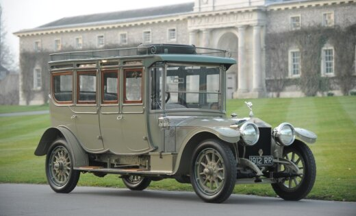 Rolls-Royce Silver Ghost 1912 года ушел за $7 млн