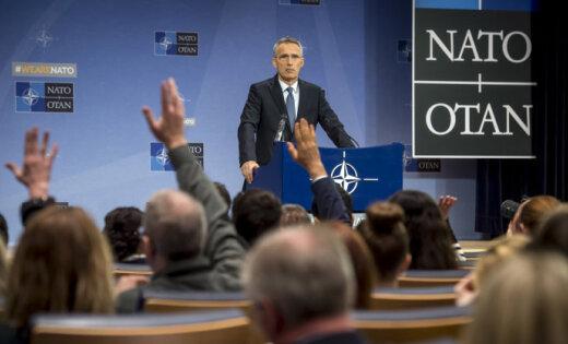 Члены НАТО могут завтра обсудить вступление Украины вАльянс