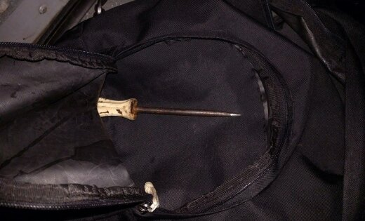 Плявниеки: задержан наркоман, подозреваемый в краже из машины