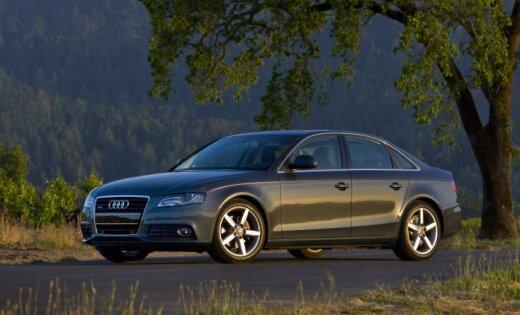 Auto zādzību topā nokļuvis 'Audi A4'