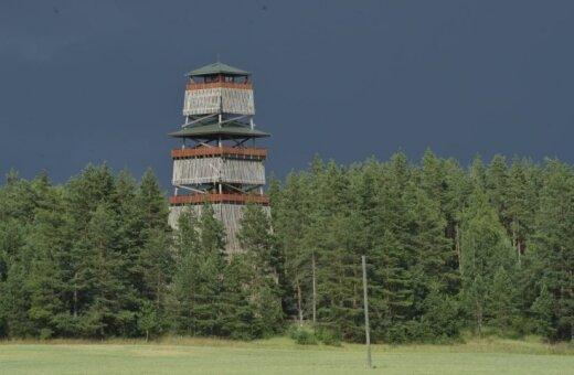 Uzkāpt skatu tornī!
