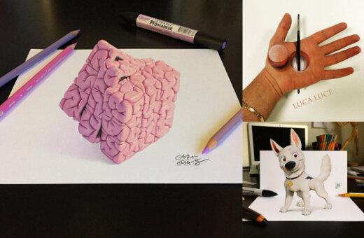 16 чудесных 3D-картинок, которые поломают (в хорошем смысле) твой мозг