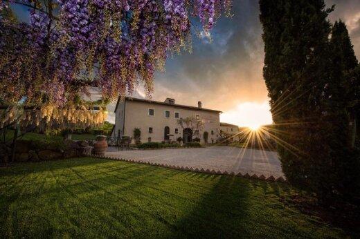 Вилла в частной итальянской деревне, на которой Обама отдыхал целую неделю