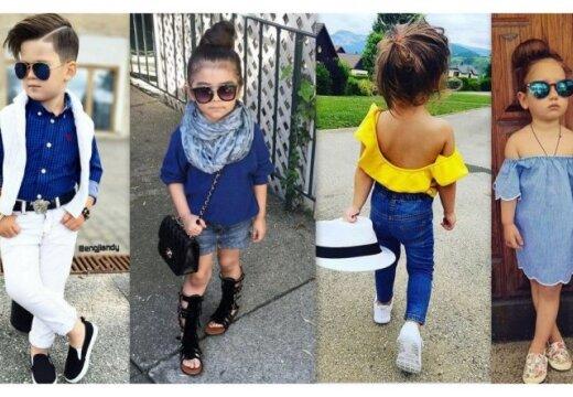 Высокий стиль: что бывает, когда детей одевают, как взрослых
