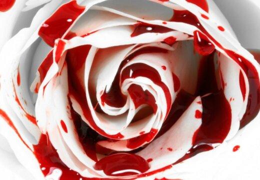 Как сделать кровавый цветок
