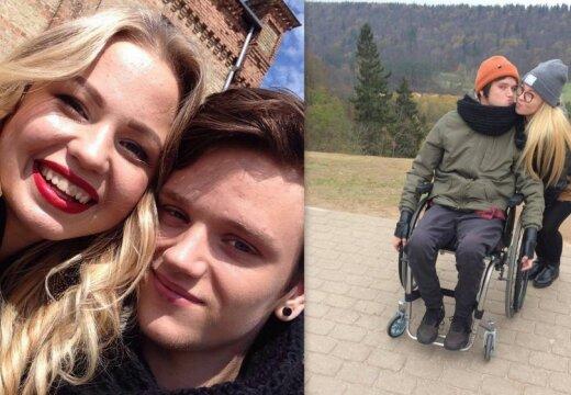 Инвалидное кресло — не преграда. История любви Анете и Густава
