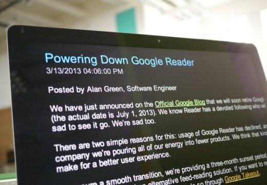'Google' likvidē pakalpojumu 'Reader'