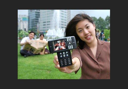 Jauns 'Samsung DMB' telefons - DELFI