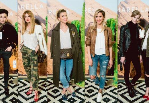 ФОТО: стильное бунтарство рижских селебрити на презентации бренда Marella