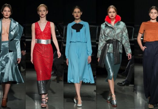 """Первый день Riga Fashion Week: грузинское обаяние, блеск и """"мода наоборот"""""""