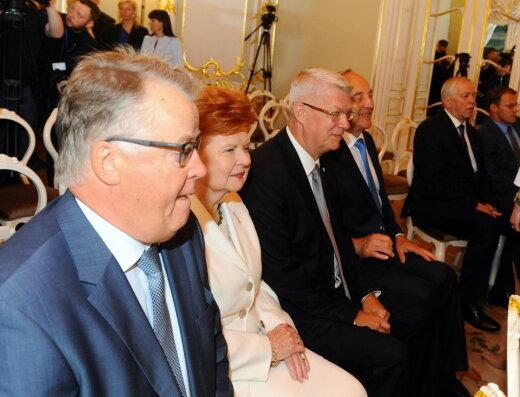 Смотри, Латвия! Сегодня ты получила новую первую леди, и она явно на своем месте
