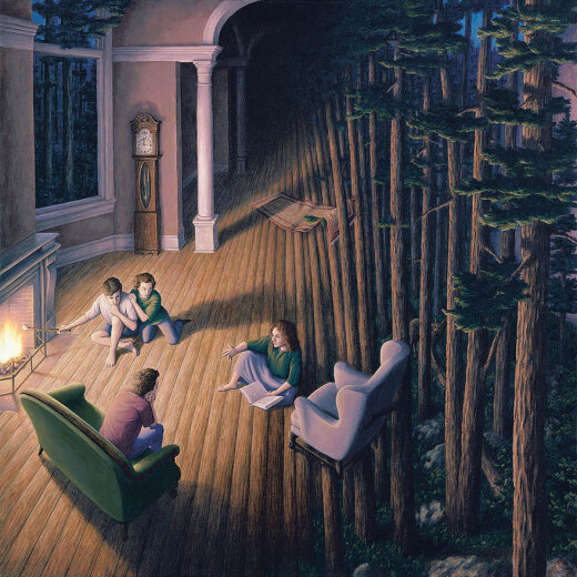 Художник, который обманет твой мозг: 25 невероятных оптических иллюзий