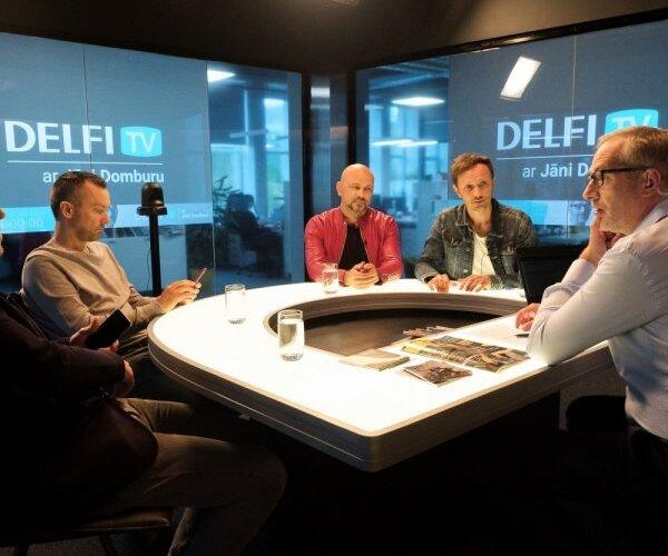'Delfi TV ar Jāni Domburu' atbild 'Prāta vētra'. Sarunas teksts